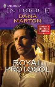 Cover of: Royal Protocol by Dana Marton