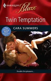 Cover of: Twin Temptation by Cara Summers