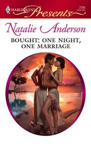 Cover of: Bought: One Night, One Marriage by Natalie Anderson