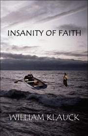 Cover of: Insanity Of Faith by