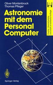 Astronomie mit dem Personal Computer PDF