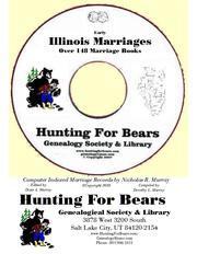 Early Illinois Marriage Records Index by Nicholas Russell Murray