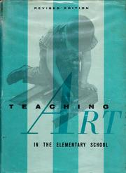 Teaching art in the elementary school by Margaret Hamilton Erdt