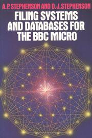 Filing systems and Databases for the BBC Micro PDF