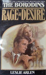 Rage and Desire by Leslie Arlen
