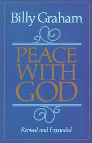 Peace with God by Graham, Billy