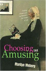Choosing the amusing by Marilyn Meberg