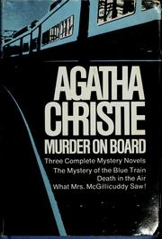 Cover of: Agatha Christie Murder on Board by Agatha Christie
