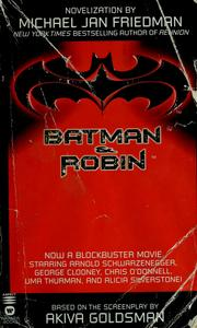 Batman & Robin by Michael Jan Friedman