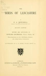 The birds of Lancashire by F. S. Mitchell