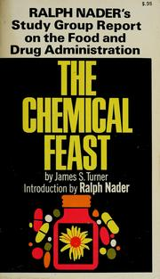 The chemical feast by James S. Turner