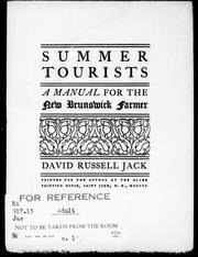Summer tourists by D. R. Jack