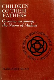 Children of their fathers by Margaret Read