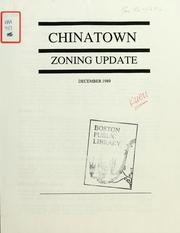 Chinatown zoning update.