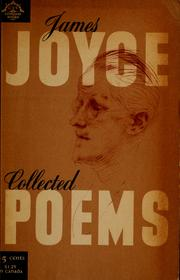 Collected poems by James Joyce