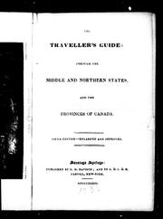 The traveller's guide through the middle and northern states, and the provinces of Canada by Gideon M. Davison