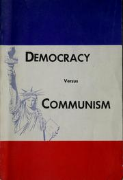 democracy vs communism essays What are the similarities and differences between communism what are the similarities and differences between differences between communism and democracy.