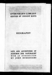 Life and adventures of Audubon the naturalist by John James Audubon