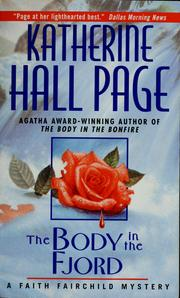 Cover of: The body in the fjord by Katherine Hall Page