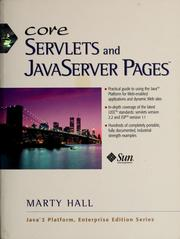 Core servlets and JavaServer Pages by Marty Hall