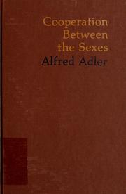 Co-operation between the sexes by Alfred Adler