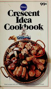 Cover of: Crescent idea cookbook by