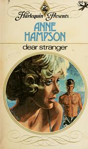 Cover of: Dear stranger by Anne Hampson