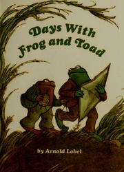 Cover of: Days with Frog and Toad by Arnold Lobel