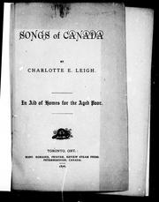 Songs of Canada by E. Leigh