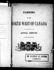 Farming in the north west of Canada by