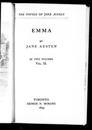Cover of: Emma by Jane Austen