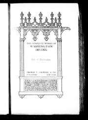 Cover of: The complete works of Washington Irving by Washington Irving