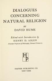 Dialogues Concerning Natural Religion PDF