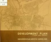 A development plan for Jacksonville, North Carolina by North Carolina. Division of Community Planning