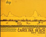 A development plan for Carolina Beach, North Carolina by North Carolina. Division of Community Planning