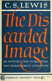 Cover of: The discarded image by C. S. Lewis