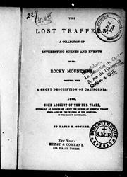 The lost trappers by David H. Coyner
