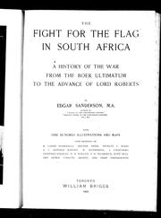 The fight for the flag in South Africa by Edgar Sanderson