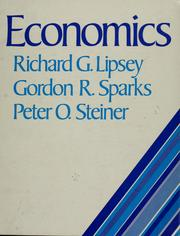 Economics by Richard G. Lipsey