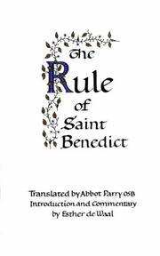 Rule of Saint Benedict PDF
