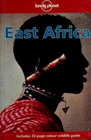 Cover of: East Africa by Finlay, Hugh.