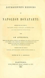 Bourrienne's Memoirs of Napoleon Bonaparte by Louis Antoine Fauvelet de Bourrienne