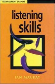 Listening Skills (Management Shapers) PDF