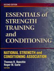 Essentials of strength training and conditioning by