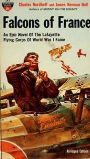 Cover of: Falcons of France by Nordhoff, Charles