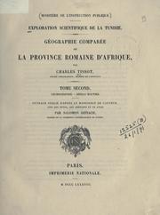 Exploration scientifique de la Tunisie