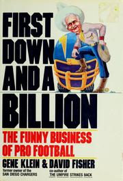 First down and a billion by Gene Klein