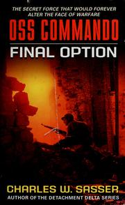 Cover of: Final option by Charles W. Sasser