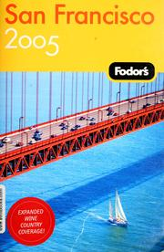 Fodor's 05 San Francisco by