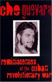 Reminiscences of the Cuban Revolutionary War PDF